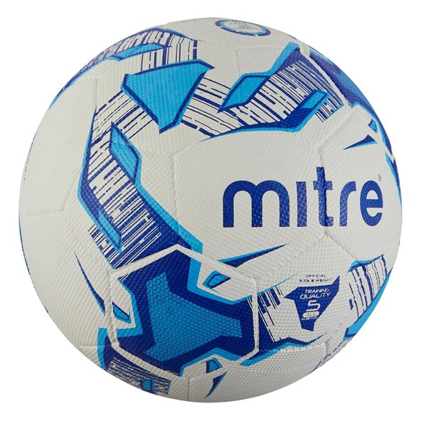 Mitre Super Dimple Tarmac Football, White