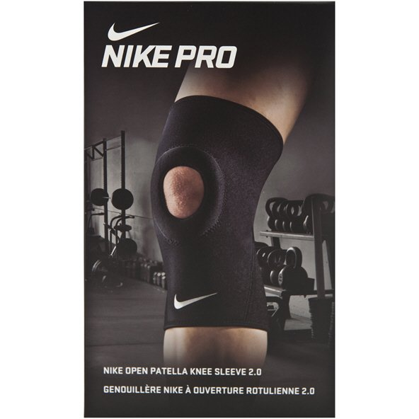Nike Pro Combat Open Pat Knee Sleeve 2.0 Black