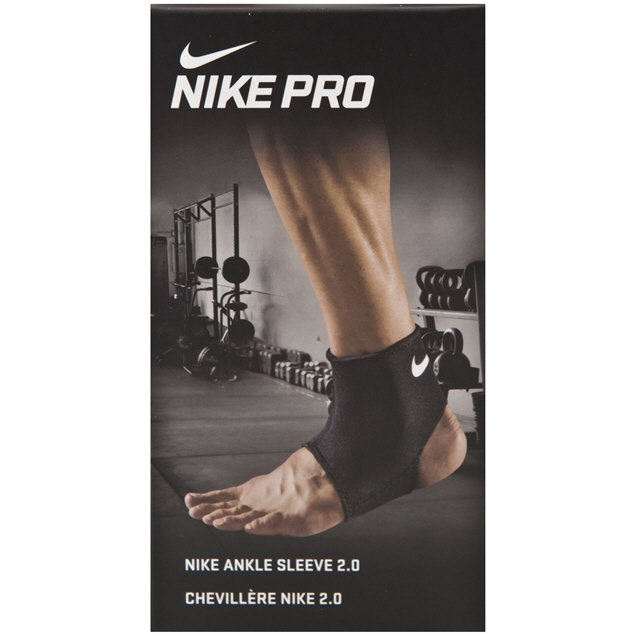 Nike Pro Combat Ankle Sleeve 2.0 Black/White