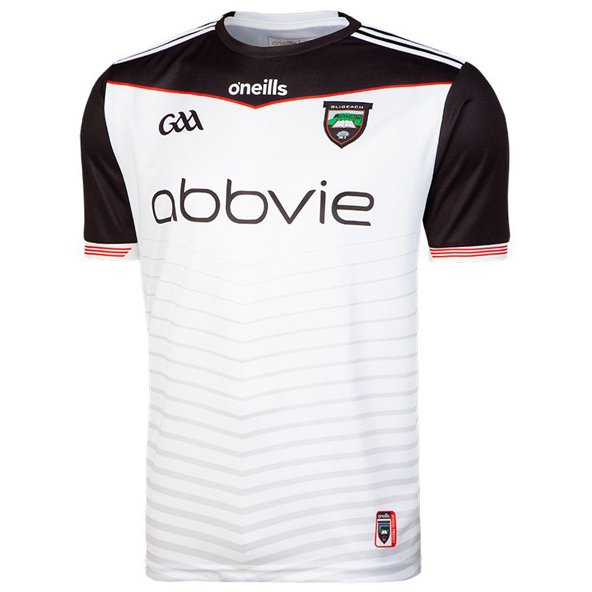O'Neills Sligo 2019 Player Fit Home Jersey, White