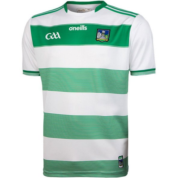 O'Neills Limerick 2019 Player Fit Goalkeeper Jersey, White