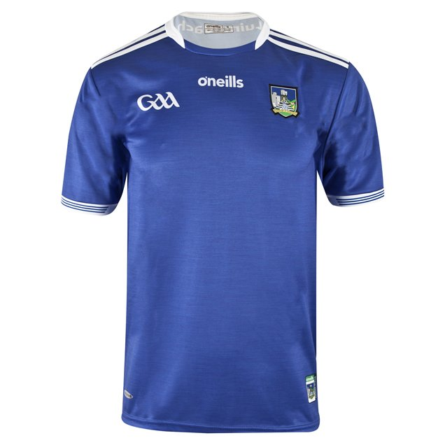 O'Neills Limerick 2019 Kids' Away Jersey, Blue