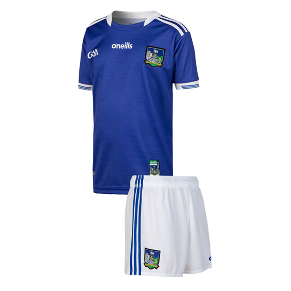O'Neills Limerick 2019 Kids' Away Kit, Blue