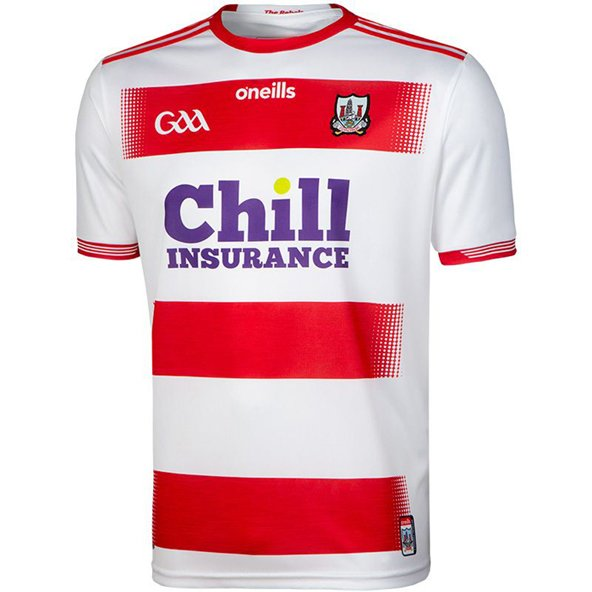 O'Neills Cork 2019 Player Fit Home GK Jersey, White