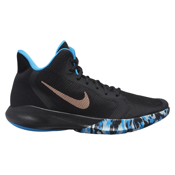 Nike Precision III Basketball Shoe Make, Black