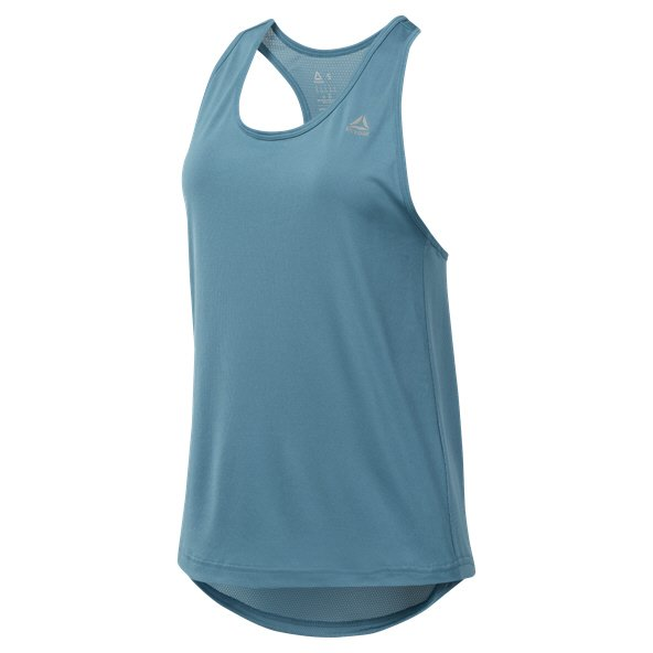 Reebok Performance Mesh Women's Tank Top, Blue