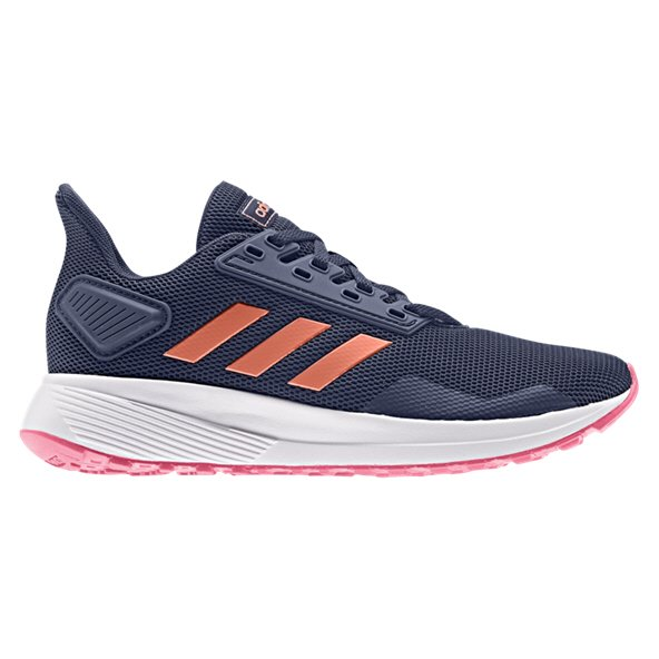 adidas Duramo 9 Girls' Running Shoe, Navy
