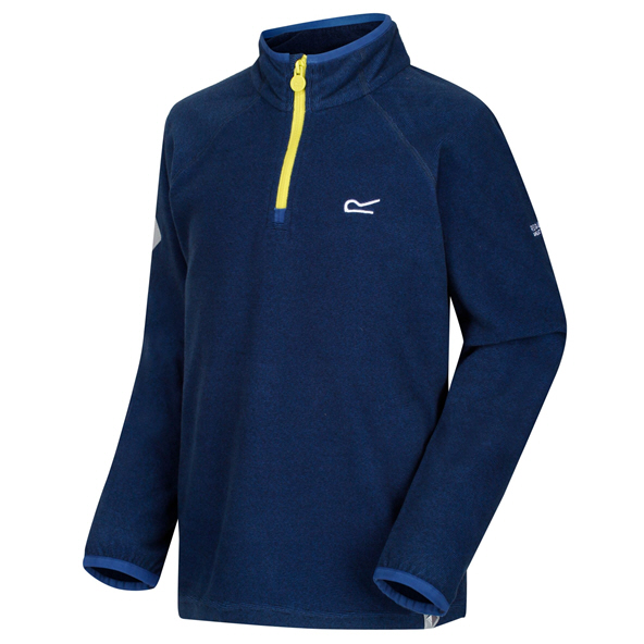 Regatta Loco ¼ Zip Boys' Fleece Jacket, Blue