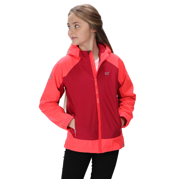 Regatta Hurdle 3 Girls Jacket Pink