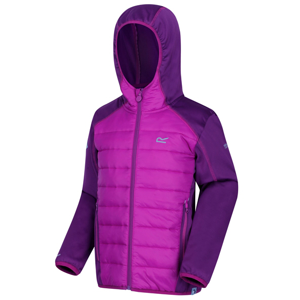 Regatta Kielder IV Hybrid Girls' Jacket, Purple