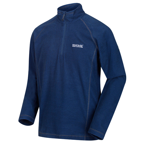Regatta Montes Men's ¼ Zip Fleece Jacket, Blue