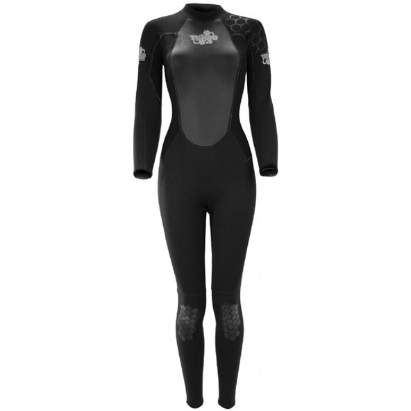 TWF Turbo 2.5mm Wmns Full Wetsuit Black