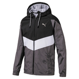 Puma Reactive Woven Jkt Mens Black