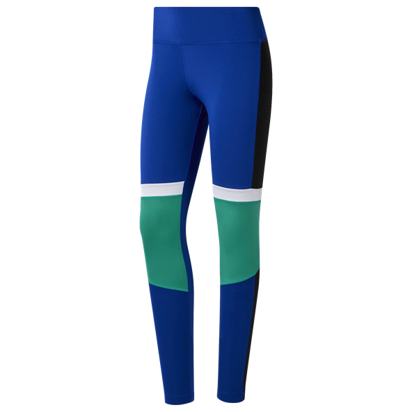 Reebok WOR Paneled Poly Wmns Tights Blue
