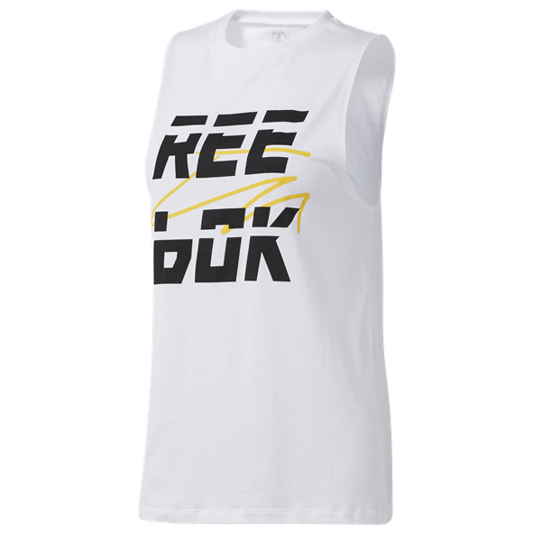 Reebok WOR MYT Muscle Wmns Top White