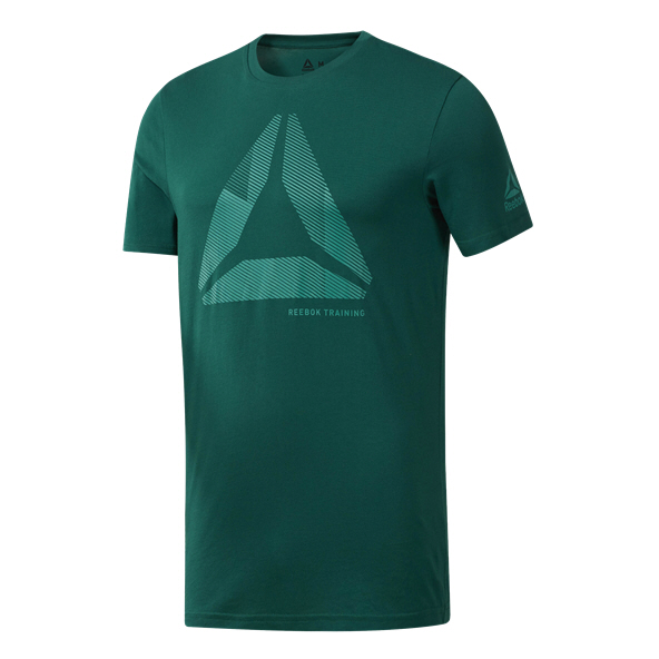 Reebok GS OST Shift Blur Men's T-Shirt, Green