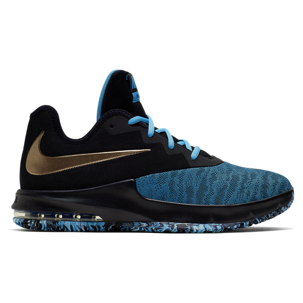 Nike Air Max Infuriate III Low Basketball Shoe, Black