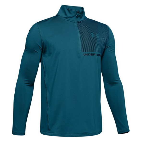 Under Armour Raid Boys' 1/4 Zip Top Teal