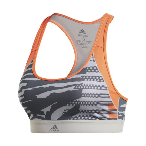 adidas Don't Rest Iteration Women's Bra Solid Grey/Print