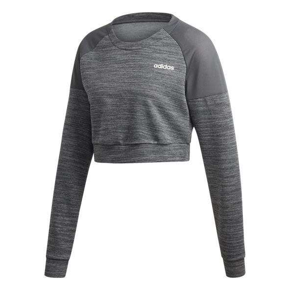 adidas Xpressive Women's Cropped Sweater  Dark Grey