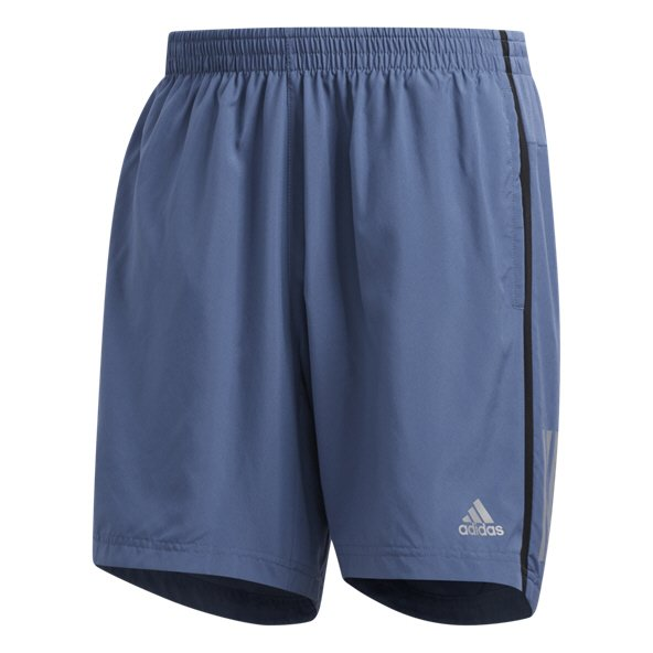 adidas Own the Run Short Mens Tech Ink/