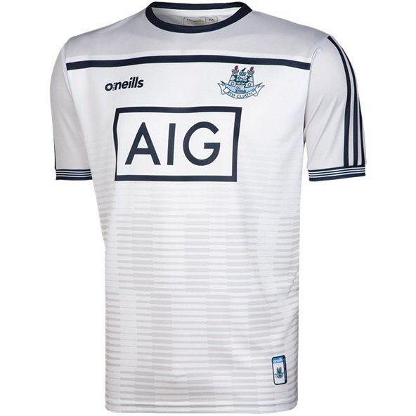 O'Neills Dublin 2019 Kids' Training Jersey, White