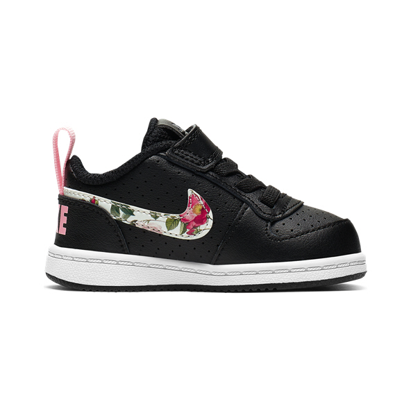 Nike Court Borough Low Inf Girls Black