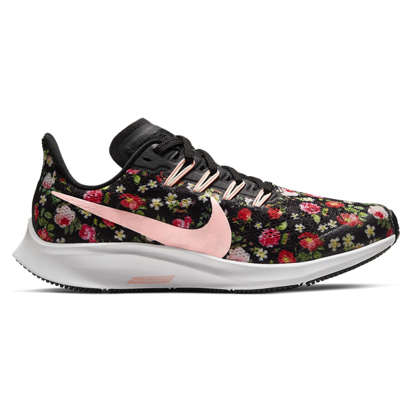 Nike Zoom Pegasus 36 VF Girls' Running Shoe, Black