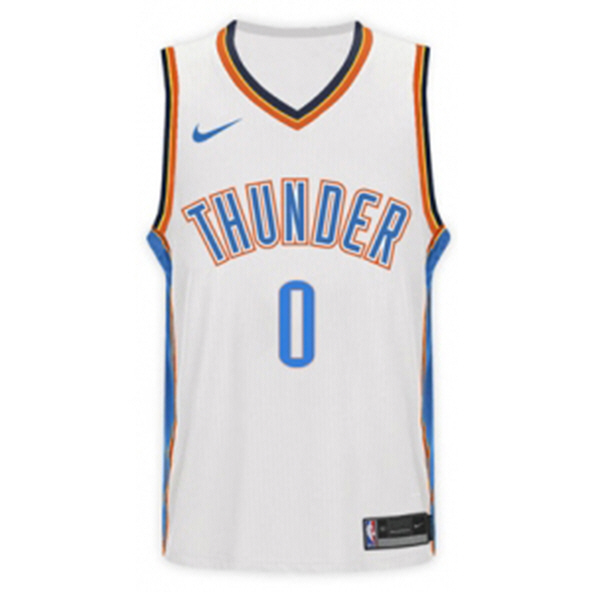 Nike Thunder Westbrook 18 Kid Jry White