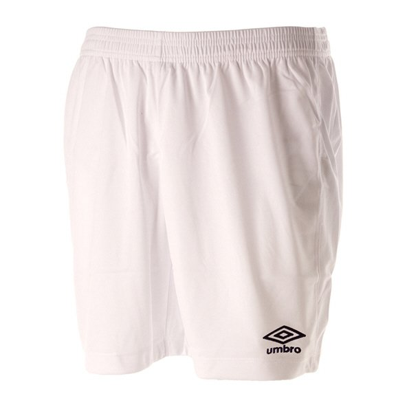 Umbro Club Socer Kids' Short, White
