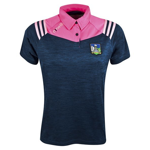 O'Neills Limerick Colorado Women's Polo, Navy