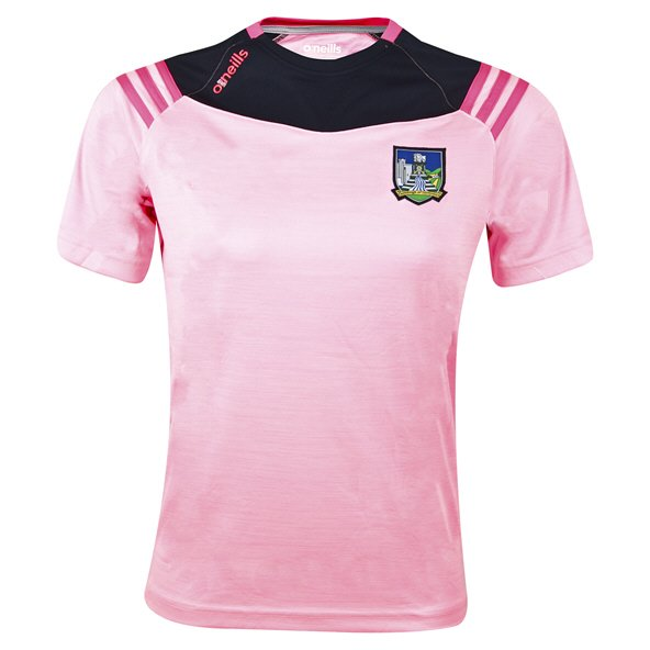 O'Neills Limerick Colorado Girls' T-Shirt, Pink