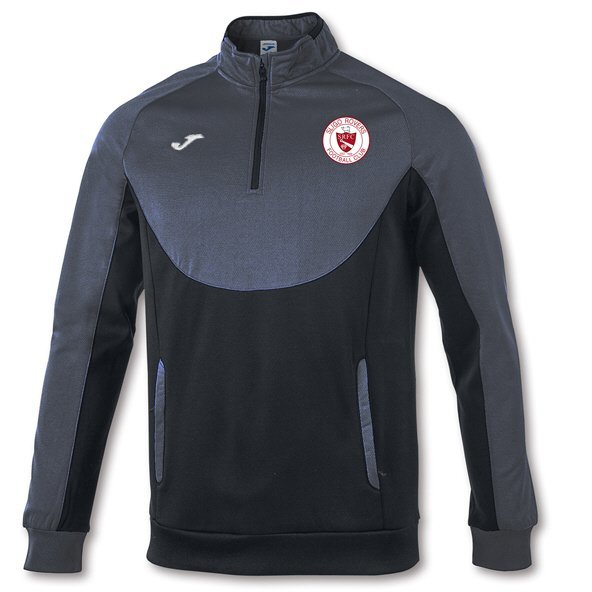 Joma Sligo Rovers 2019 ¼ Zip Training Top, Black