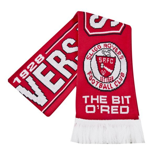 Joma Sligo Rovers 2019 Scarf, Red