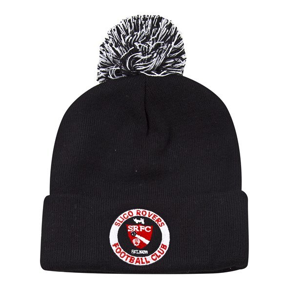 Joma Sligo Rovers 2019 Bobble Beanie, Black