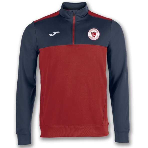 Joma Sligo Rovers 2019 Kids' ¼ Zip Training Top, Red