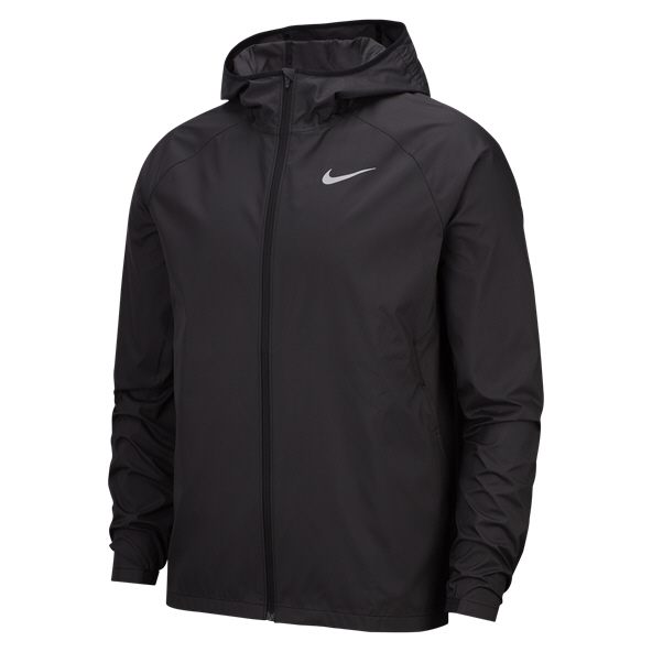 Nike Essential Men's Running Jacket, Black