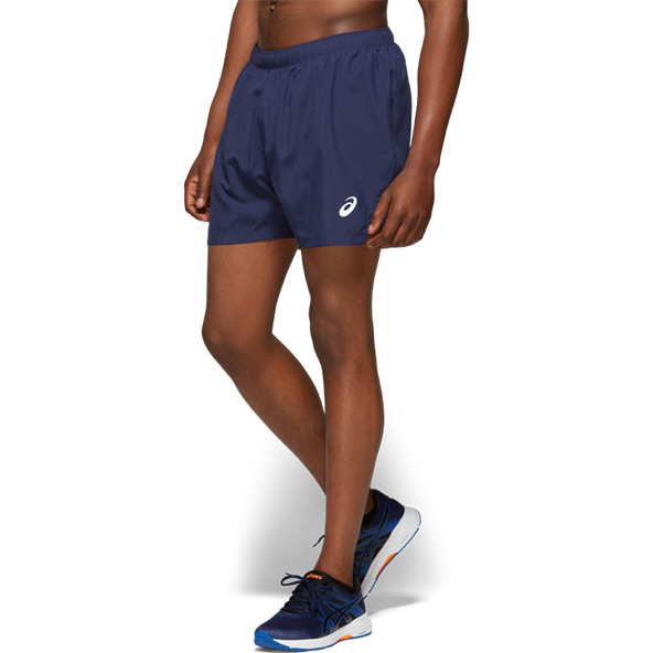 Asics Silver 5IN Shorts Mens Navy