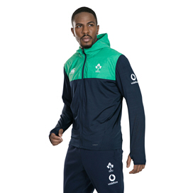 Canterbury IRFU 2019 Full Zip Hoody, Navy