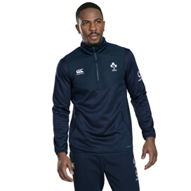 Canterbury IRFU 2019 ThermoReg ¼ Zip Top, Navy