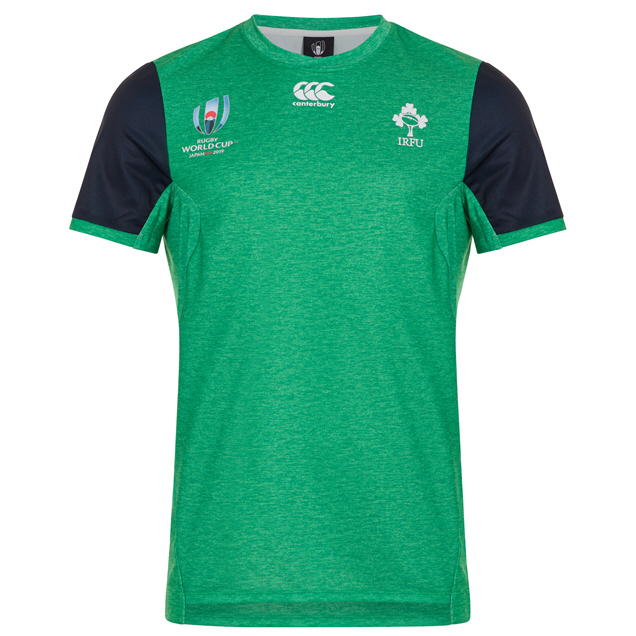 Canterbury IRFU RWC19 Drill T-Shirt, Green