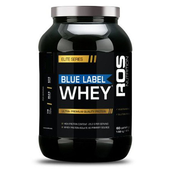 ROS Nutrition Blue Label Whey Protein - 1.82kg, Vanilla