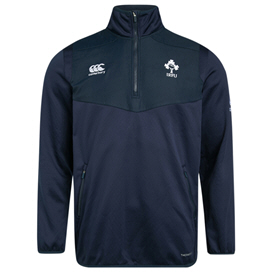 Canterbury IRFU 2019 Kids' ThermoReg ¼ Zip Top, Navy