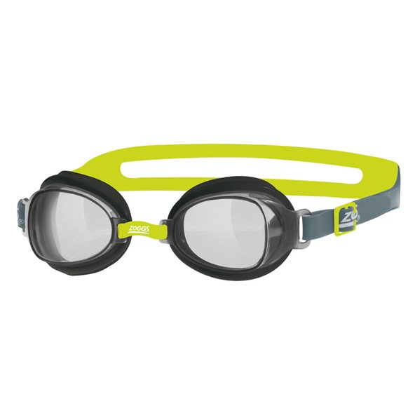 Zoggs Otter Swimming Goggles Black/Lime