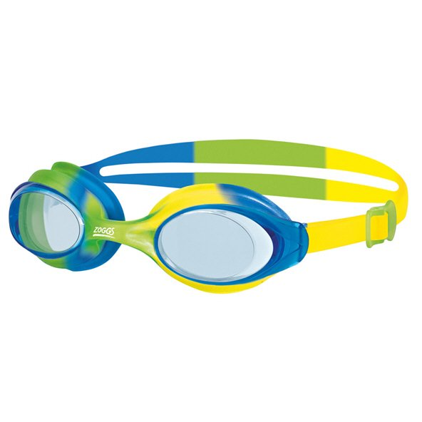 Zoggs Bondi Junior Goggle 6y+ Green/Blue
