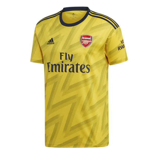 adidas Arsenal 2019/20 Away Jersey, Yellow