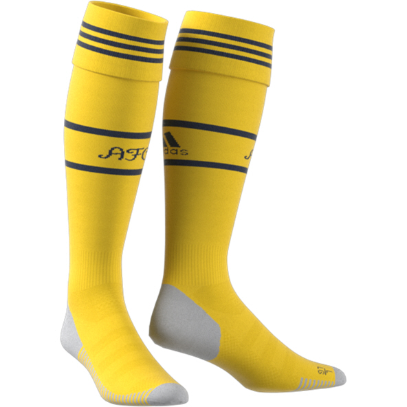 adidas Arsenal 2019/20 Away Sock, Yellow
