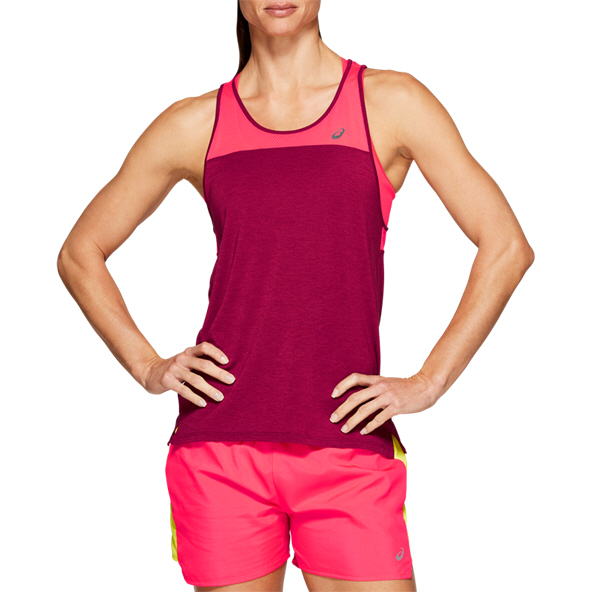 Asics Losse Strappy Wmns Tank Red/Pink