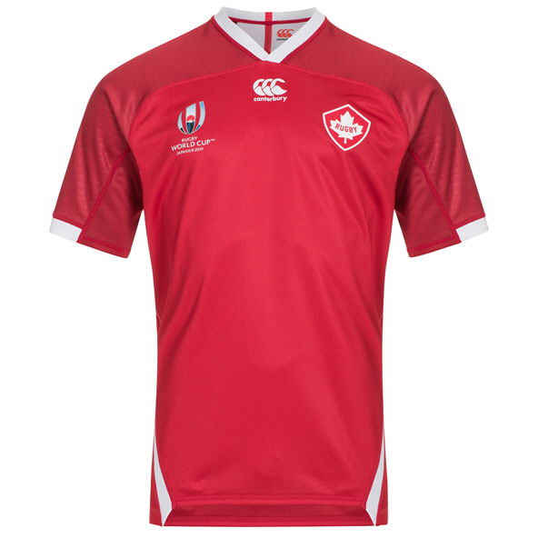 Canterbury Canada RWC19 Home Jersey Red
