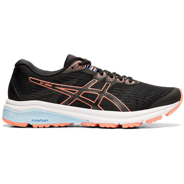 Asics GT-1000 8 Women's Running Shoe, Black